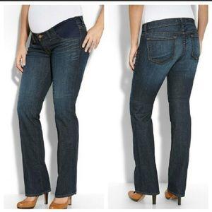J Brand Mama Straight Leg Maternity Jeans 27